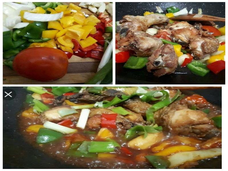 Ayam kecap Paprika Dapur Ocha