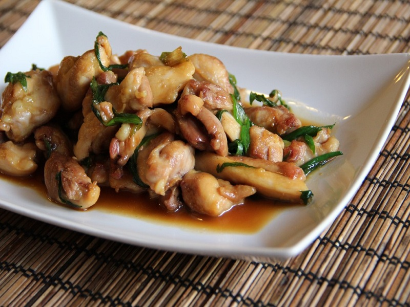 Resep chicken teriyaki Japanese food