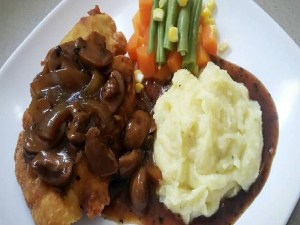 Resep Chicken Steak With Potatos