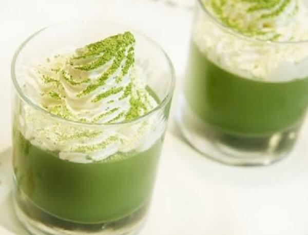 Resep Milkshake Green Tea