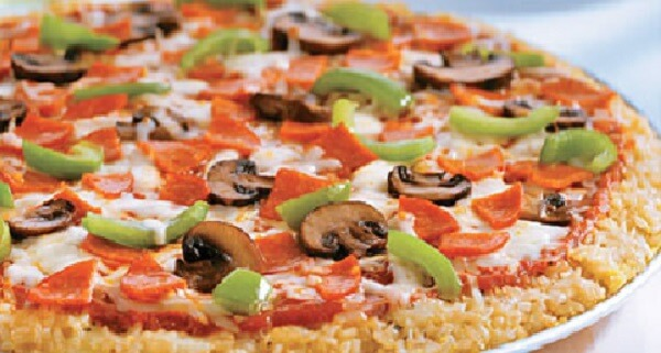 Resep Pizza Rice Cheese