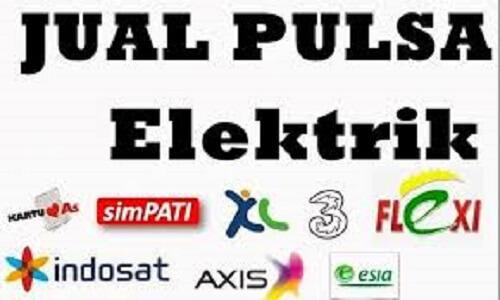 Jual Pulsa Elektrik