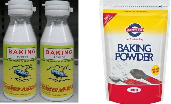 Perbedaan Baking Powder Soda kue Dan Fermipan