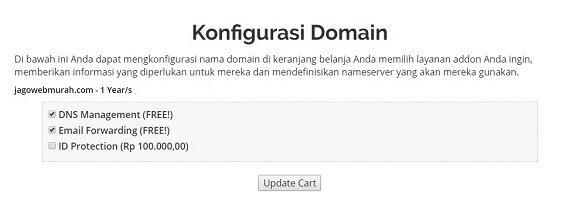 Konfigurasi Domain Saja
