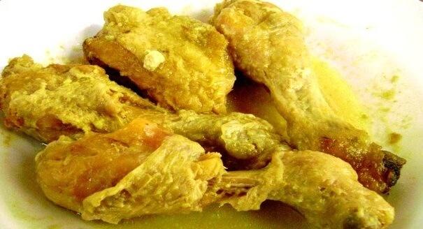 Resep Opor Ayam Bumbu Kuning