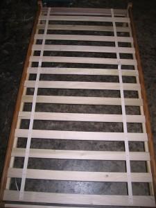 Slat Spacing Platform Bed