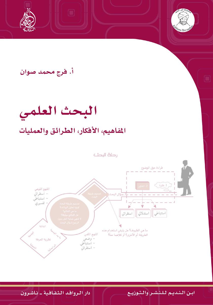 البحث العلمي - المفاهيم, الأفكار, الطرائق والعمليات