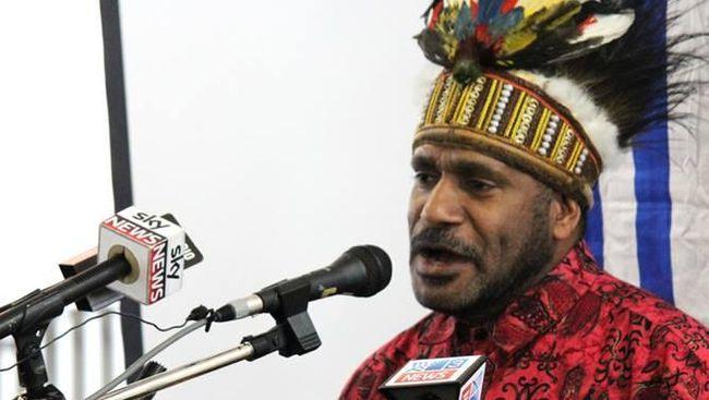 Pemimpin Gerakan Persatuan Pembebasan Papua Barat, Benny Wenda. (Dok. The Office of Benny Wenda/CNN)