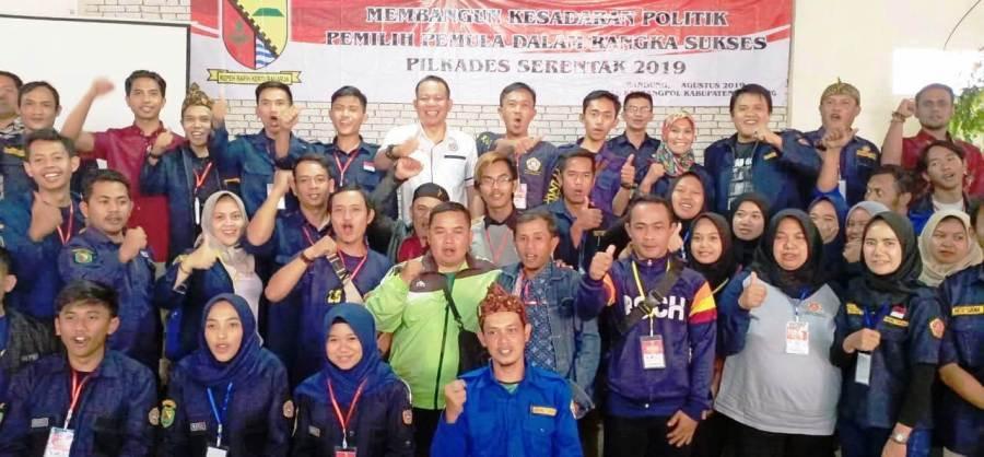 Peserta Pendidikan Politik bagi Generasi Muda Kabupaten Bandung. Foto: dara.co.id/Fattah