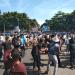 Keseruan tari flashmob dalam Hari Sumpah Pemuda di Garut (Foto: Beni)