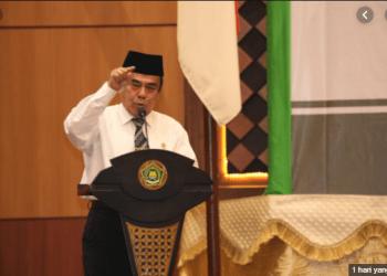 Menteri Agama, Fachrul Razi (Foto: mercinews)