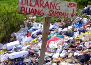 Ilustrasi sampah (Foto: Kajianpustaka.com)