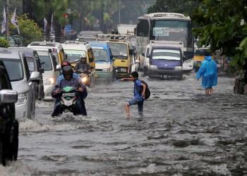 Banjir di Kota Bandung (Foto : fokus jabar)