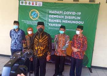 Ridwan Kamil saat konfrensi pers di Gedung Pusdai Kota Bandung (Foto: Ardian Rsco/dara.co.id)