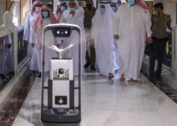 Robot ini bekerja dengan sistem lokalisasi dan pemetaan simultan (SLAM) beresolusi tinggi. (Foto : inews.id)