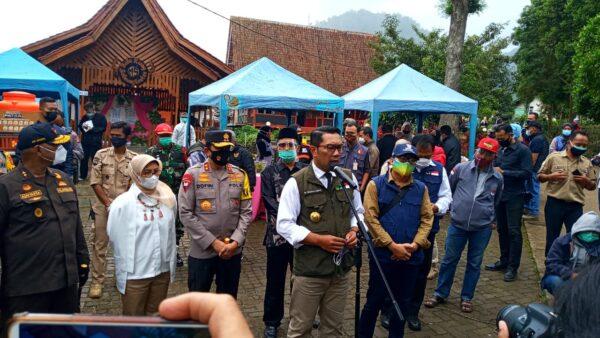 Saat Ridwan Kamil pantau pilkada di Kabupaten Bandung (Foto: Ardian Resco/dara.co.id)