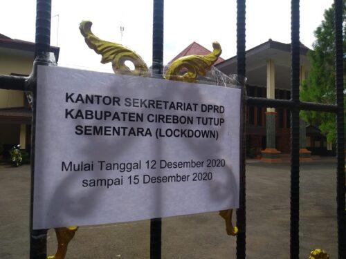 Gedung DPRD Kabupaten Cirebon sempat lockdown (Foto: Bambang Setiawan/dara.co.id)