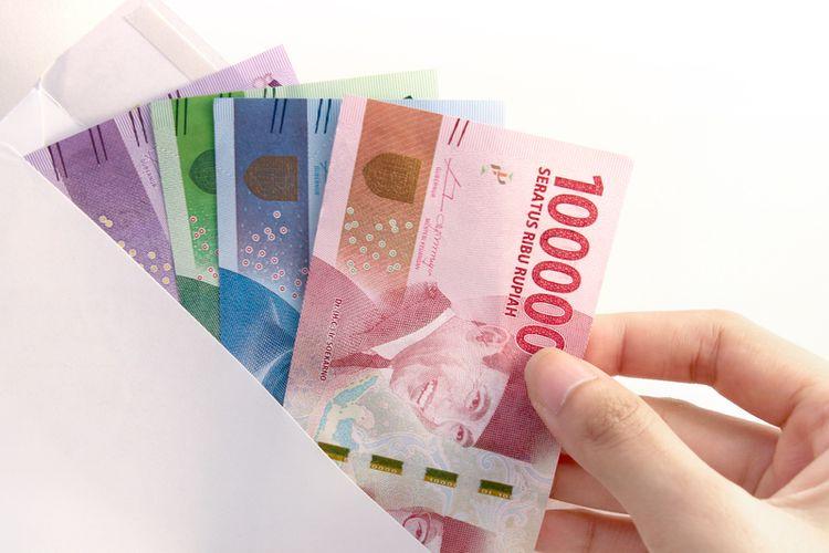 Ilustrasi uang gaji (Foto: Kompas.com)