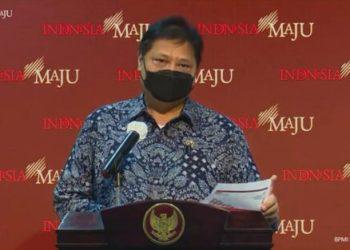 Ketua Komite Penanganan Covid-19 dan Pemulihan Ekonomi Nasional Airlangga Hartarto (Foto: DDTC News)