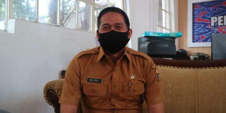 Kepala Dinas Komunikasi Informatika dan Statistik Kota Cirebon, Ma'ruf Nuryasa