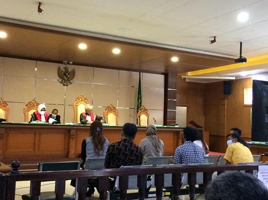 Sidang lanjutan perkara dugaan korupsi dan pencucian uang dalam proyek pengadaan lahan ruang terbuka hijau (RTH) Kota Bandung (Foto: Istimewa)