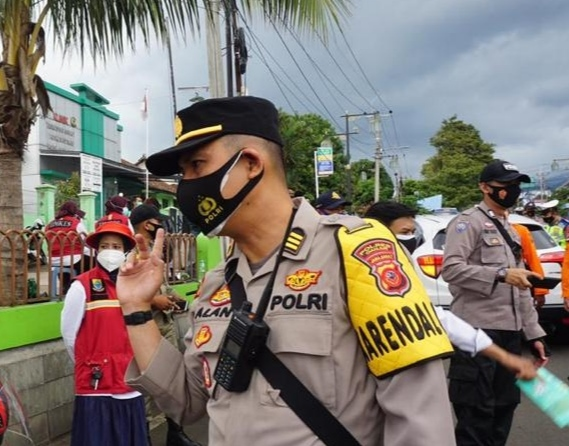 Kabag Ops Polres Cianjur, Kompol M Alan Haikel