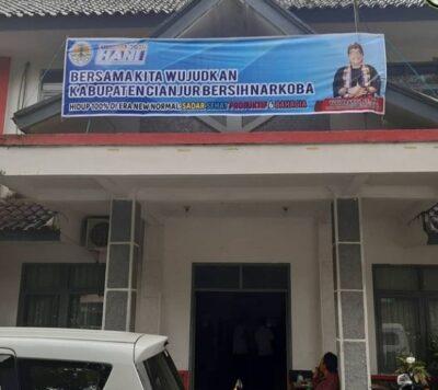 Kantor Dinas Lingkungan Hidup Cianjur di Jalan Raya Cianjur-Bandung, Bojang, Cianjur (Foto: Purwanda/dara.co.id)