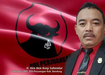 Wakil Ketua DPRD Kabupaten Bandung, Hen Hen Asep Suhendar (Foto: Bandungraya.net)