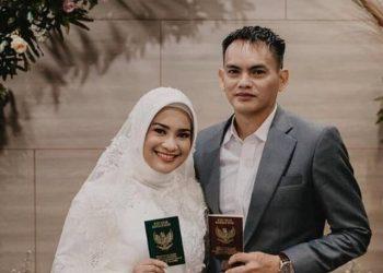 Ikke Nurjanah akhirnya menikah dengan Karlie Fu (Foto : Liputan6.com)