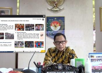 Menteri Dalam Negeri (Mendagri) Muhammad Tito Karnavian. (Foto: Kemendagri)