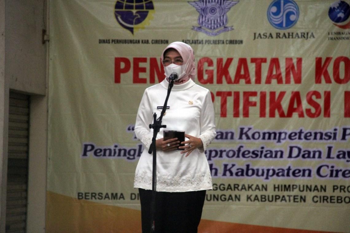Wakil Bupati Cirebon, Hj Wahyu Tjiptaningsih, SE, MSi