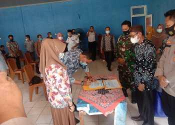 Deklarasi Damai 10 calon yang bertarung di Pilkades digelar di Kecamatan Pampangan, OKI (Foto: Erwandi/dara.co.id)