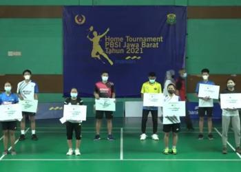 Atlet Bulutangkis Garut Sabet Juara 1 dan 2 di Home Tournament PBSI Jabar (Foto: Istimewa)