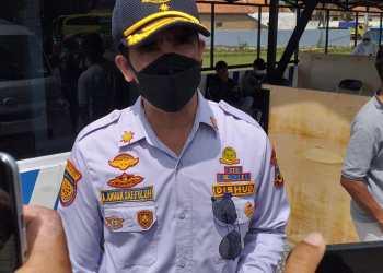Kepala Dinas Perhubungan Kabupaten Garut, Aah Anwar Saefuloh (Foto: Andre/dara.co.id)