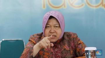 Menteri Sosial, Tri Rismaharini (Foto: CNBC Indonesia)
