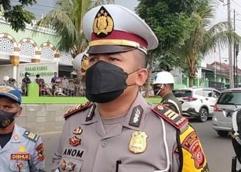 Kasatlantas Polres Cianjur AKP Mangku Anom