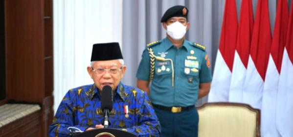 Wakil Presiden RI Ma'ruf Amin.(Foto: Setwapres)