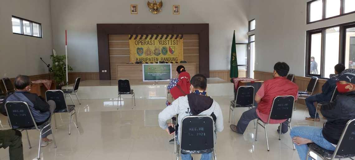 Sidang tipiring di Kabupaten Bandung (Foto: Istimewa)