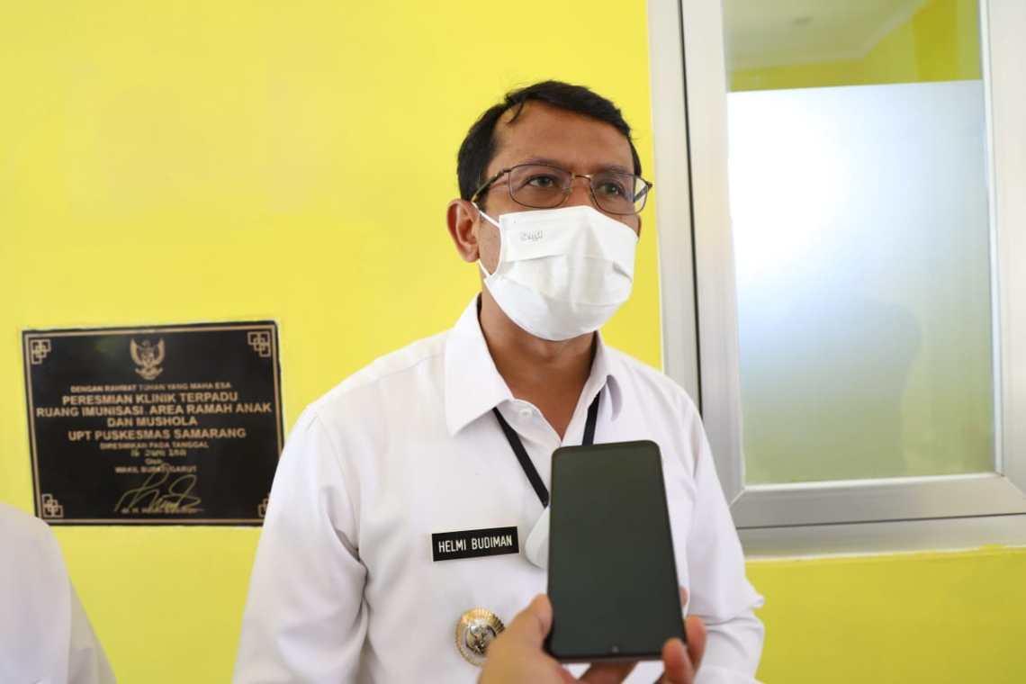 Wakil Bupati Garut, dr.Helmi Budiman