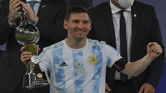 Lionel Messi pemain terbaik Copa America-2021 (Foto : ist)