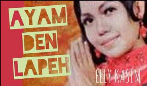 Ally Kasim mempopulerkan lagu Ayam Den Lapeh (Foto: Youtube)