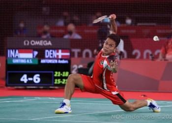 Anthony Ginting (Foto: Okezone Sport)