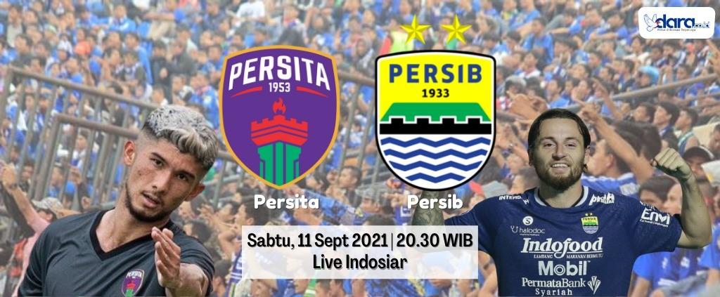 Persib Bandung akan bertandang melawan Persita Tangerang, Sabtu (11/9/2021).(Foto : amel/dara.co.id)