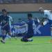Mohammed Rashid membobol gawang Persita pada pertandingan pekan kedua Liga 1 2021/2022 di Stadion Wibawa Mukti Cikarang, Kabupaten Bekasi, Sabtu (11/9/2021). (Foto:© PERSIB.co.id/Barly Isham)