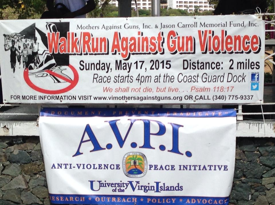 AVPI Banner with Walk Run Banner