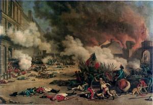 Der Sturm auf die Tuilerien. Geschichts 1x1