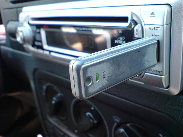 usb in car radio_trg