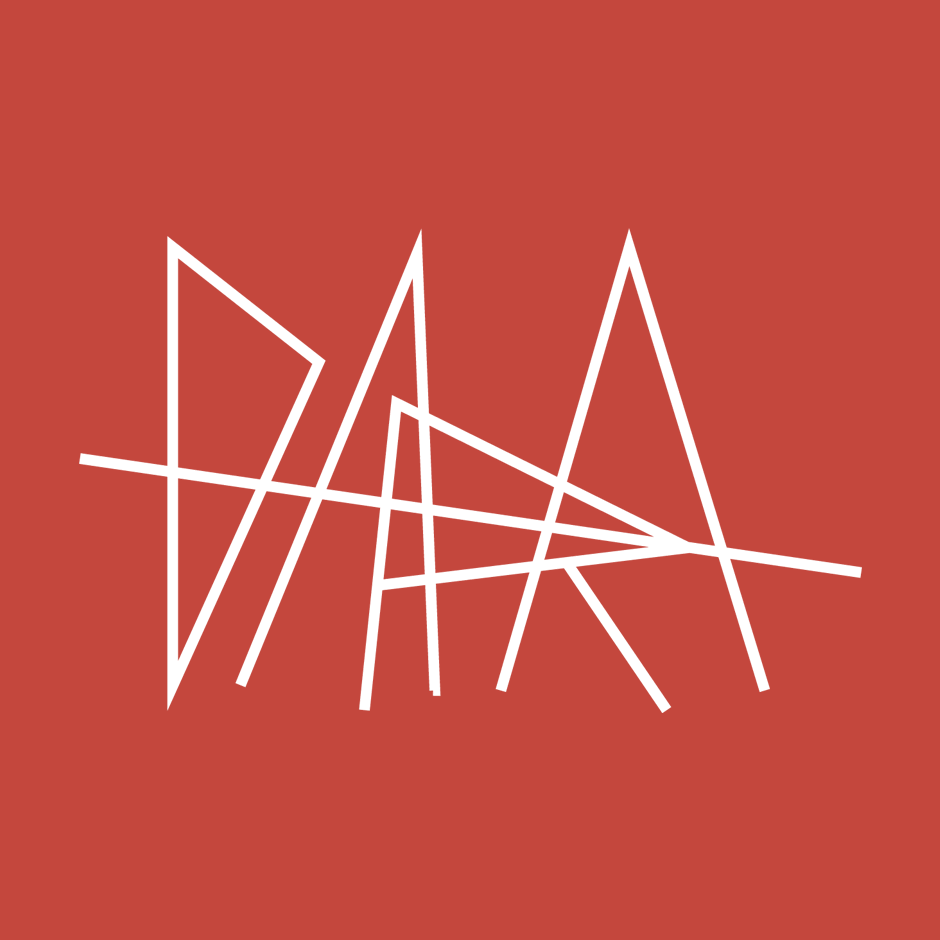 Dara logo on red