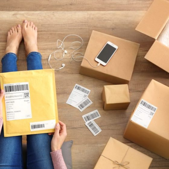 On demand parcel delivery