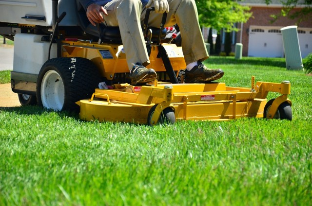 on demand lawn care